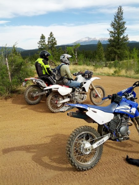 Dirt Biking with Randy