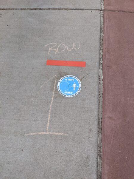 chalk square